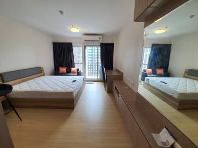 เช่าคอนโดพระราม 9 เพชรบุรีตัดใหม่ : 0578-B 😊 For RENT ให้เช่าห้อง Studo  ใกล้ MRT พระราม 9 เพียง 12 นาที🏢ศุภาลัย เวอเรนด้า พระราม 9 Supalai Veranda Rama 9 🔔พื้นที่:30.00ตร.ม.💲ราคาเช่า:12,000.-บาท📞นัดชมห้อง:099-5919653 ✅LineID:@sureresidence