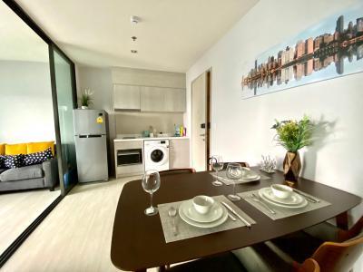 เช่าคอนโดอ่อนนุช อุดมสุข : Life Sukhumvit 48 ใกล้ BTS พระโขนง ให้เช่า 1 Bedroom Plus 40 ตรม ชั้นสูง ราคาดีสุดๆ