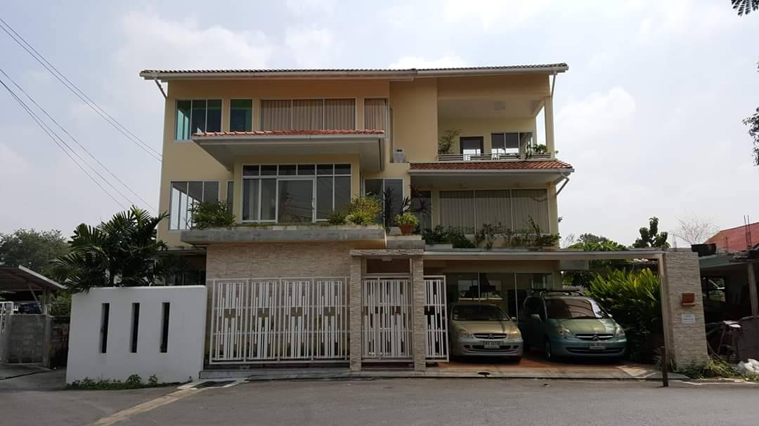 For SaleHouseRama3 (Riverside),Satupadit : House for sale in Bang Kho Laem