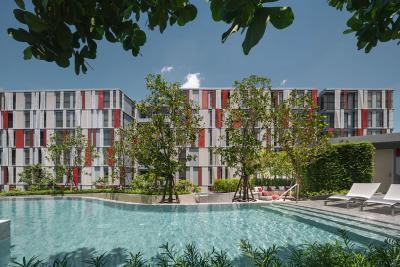 For SaleCondoSukhumvit, Asoke, Thonglor : Taka 2bed 2bath Garden Access !!! Float transfer !!! Sample room !!!