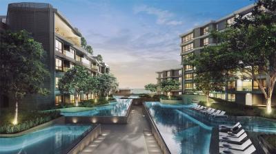ขายดาวน์คอนโดชะอำ หัวหิน : ขายดาวน์ ห้อง Pool access อาคาร E Veranda Ressidence Huahin (Fully furnished by Quattro)