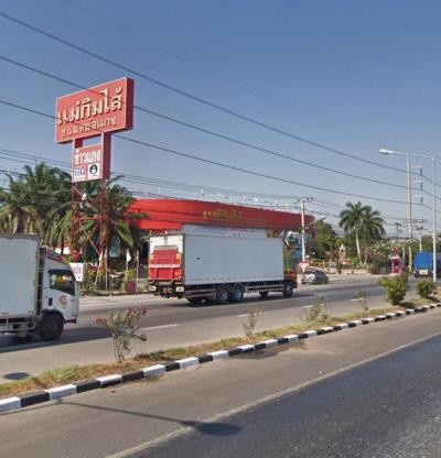 ขายที่ดินชะอำ เพชรบุรี : ขายที่ดินติดถนนใหญ่เพชรเกษม ตรงข้ามแม่กิมไล้ เพชรบุรี 139 ตร.ว ติดถนน 2 ด้าน