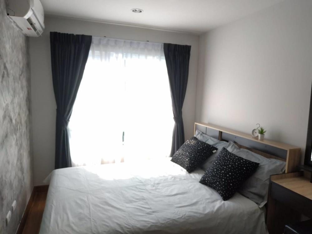 เช่าคอนโดอ่อนนุช อุดมสุข : ห้องสวย วิวสระ เฟอร์ครบ 1 ห้องนอน 28ตรม.