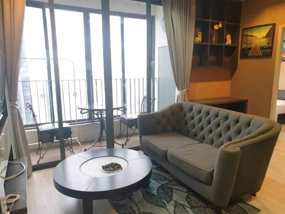 เช่าคอนโดพระราม 9 เพชรบุรีตัดใหม่ : ให้เช่า คอนโด ไอดีโอ โมบิ พระราม9 (Ideo Mobi Rama 9) 2 ห้องนอน 1 ห้องน้ำ ขนาด 53 ตร.ม ชั้น 25  ราคา 22,000 บาท /เดือน