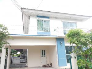 For SaleHouseRamkhamhaeng,Min Buri, Romklao : House size 52.5 sq m. 3 bedrooms 2. water in front of the road is very wide. good weather back Do not hit anyone's house in Perfect Park Romklao village, sold with tenants. Rent 20,000 baht per month