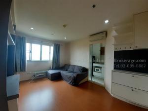 For RentCondoBangna, Bearing, Lasalle : Lumpini Mega City Bangna, number of bedrooms, 2 bedrooms (combine), total area 46.07, 11th floor, rental price (baht/month) 12,500฿
