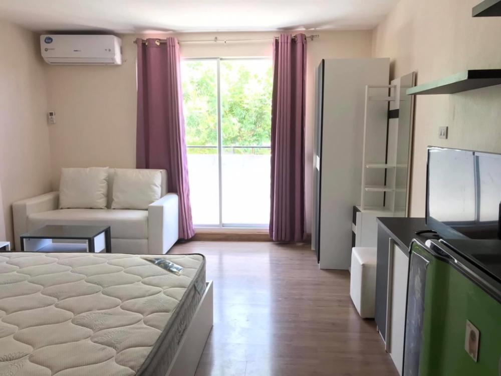 For RentCondoRangsit, Patumtani : Ready to move in  For rent, Plum Condo Phahonyothin 89, Phase 3, Building D, 2nd floor 🎀 Room size 22 sqm.