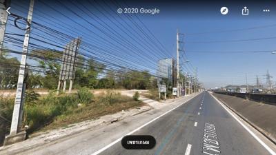 ขายที่ดินเพชรบุรี : ขายที่ดินติดถนนเพชรเกษม เมืองเพชรบุรี  257 ตร.ว หน้ากว้าง 40 ม. ข้างโชว์รูมนิสสัน เซรามิคเซ็นเตอร์