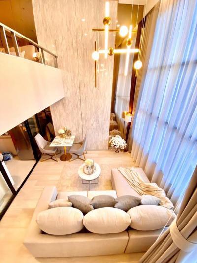 For RentCondoSathorn, Narathiwat : For Rent ** KnightsBridge Prime Sathorn, 1 Duplex 1 bath, very nice decoration **