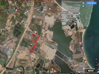 For RentLandHua Hin, Prachuap Khiri Khan, Pran Buri : Cheap land for rent in Ao Noi, near Kradai, Ao Manao