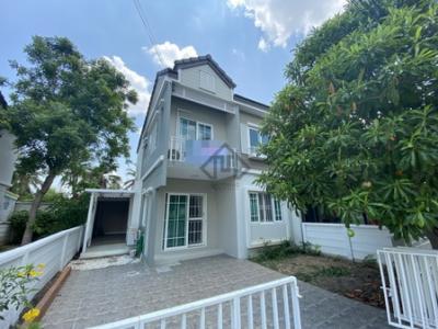 For SaleTownhouseBangbuathong, Sainoi : House for sale, Nonthaburi, Sai Noi, Kanchanaphisek, Ratchaphruek, The Village, 3 bedrooms, new condition, renovated.