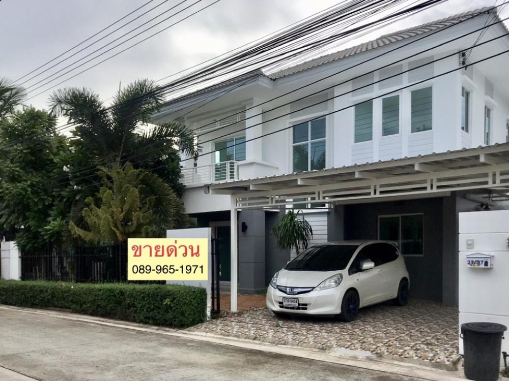 For SaleHouseRangsit, Patumtani : Urgent sale, newly renovated detached house, Prueksa Village, The Season, Rangsit, Khlong 3, Khlong Luang, Beautiful tune