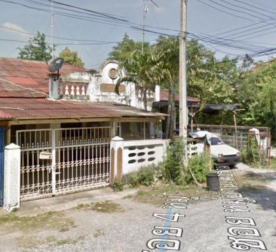 For SaleTownhouseCha-am Phetchaburi : House for sale in one floor Phetchaburi city, Phetburi University. Behind the corner, Phetchaburi Rajabhat University, Pho Rai Wan