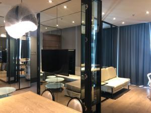 For RentCondoSukhumvit, Asoke, Thonglor : FOR RENT / SALE Furnished 1 bed 2 baths + Working room    Rent Park 24 57 sqm 1 bedroom / study room 2 bathrooms