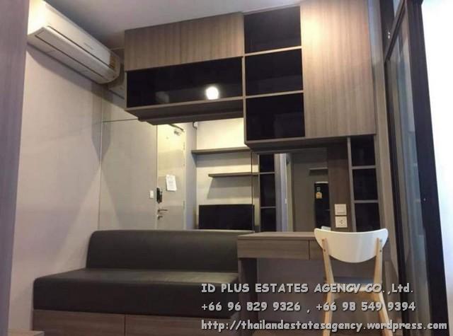 เช่าคอนโดสยาม จุฬา สามย่าน : Ideo Q Chula - Samyan Condo for rent : Studio 24 sqm. Pool view. On 10th floor.With fully furnished and electrical appliances. Just 350 m. to MRT Samyan , 400 m. to Chulalongkorn University. Discount rental only for
