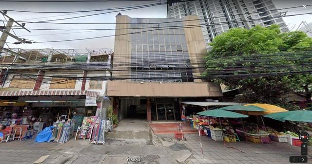 For RentCommercialSathorn, Narathiwat : Commercial building for rent 4 floors with deck Chan road area, Sathorn district