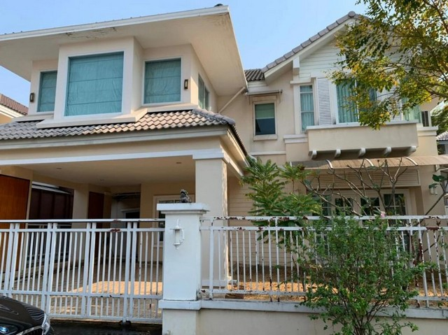 For SaleHouseRamkhamhaeng, Hua Mak : 2 storey detached house for sale Soi Ladprao 130 Soi Ramkhamhaeng 81 Areeya Busaba Ladprao Village