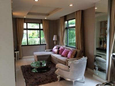 For RentHouseBangbuathong, Sainoi : House for rent Perfect Master Peice Ratchapruek Fully furnished Near MRT Bang Rak Noi, Tha It