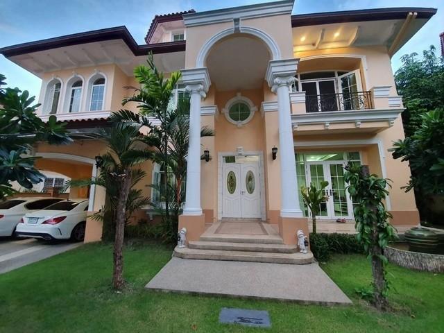 For RentHouseBang kae, Phetkasem : 2-storey detached house for rent in Bang Khae area Narasiri Village Sathorn-Ring Road, fully furnished Near MRT Lak Song
