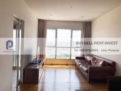 เช่าคอนโดวงเวียนใหญ่ เจริญนคร : Condo For rent! Hive Sathorn @BTS Krungthonburi 2 br. 24th fl. 30,000 baht/Month