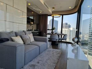 เช่าคอนโดสยาม จุฬา สามย่าน : เช่า Ashton Chula-Silom 2ห้องนอน 2ห้องน้ำ วิวสวนลุม