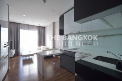For RentCondoRatchadapisek, Huaikwang, Suttisan : Rent IVY AMPIO condo, luxury condo, comfortable 44sq.m 22,000 baht 0817873559 Tum