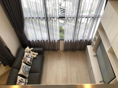 เช่าคอนโดสาทร นราธิวาส : ให้เช่าคอนโด ไนท์บริดจ์ ไพร์ม สาทร (Knightsbridge Prime Sathorn) ห้อง Duplex ใหม่เอี่ยมเพิ่งตบแต่งเสร็จ