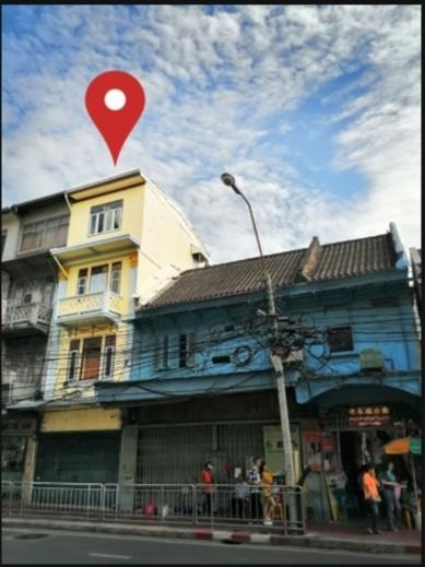 For RentShophousePha Nakorn, Yaowarat : 4 storey commercial building for rent in Yaowarat area Near MRT Dragon Temple Near I AM CHINATOWN Department Store