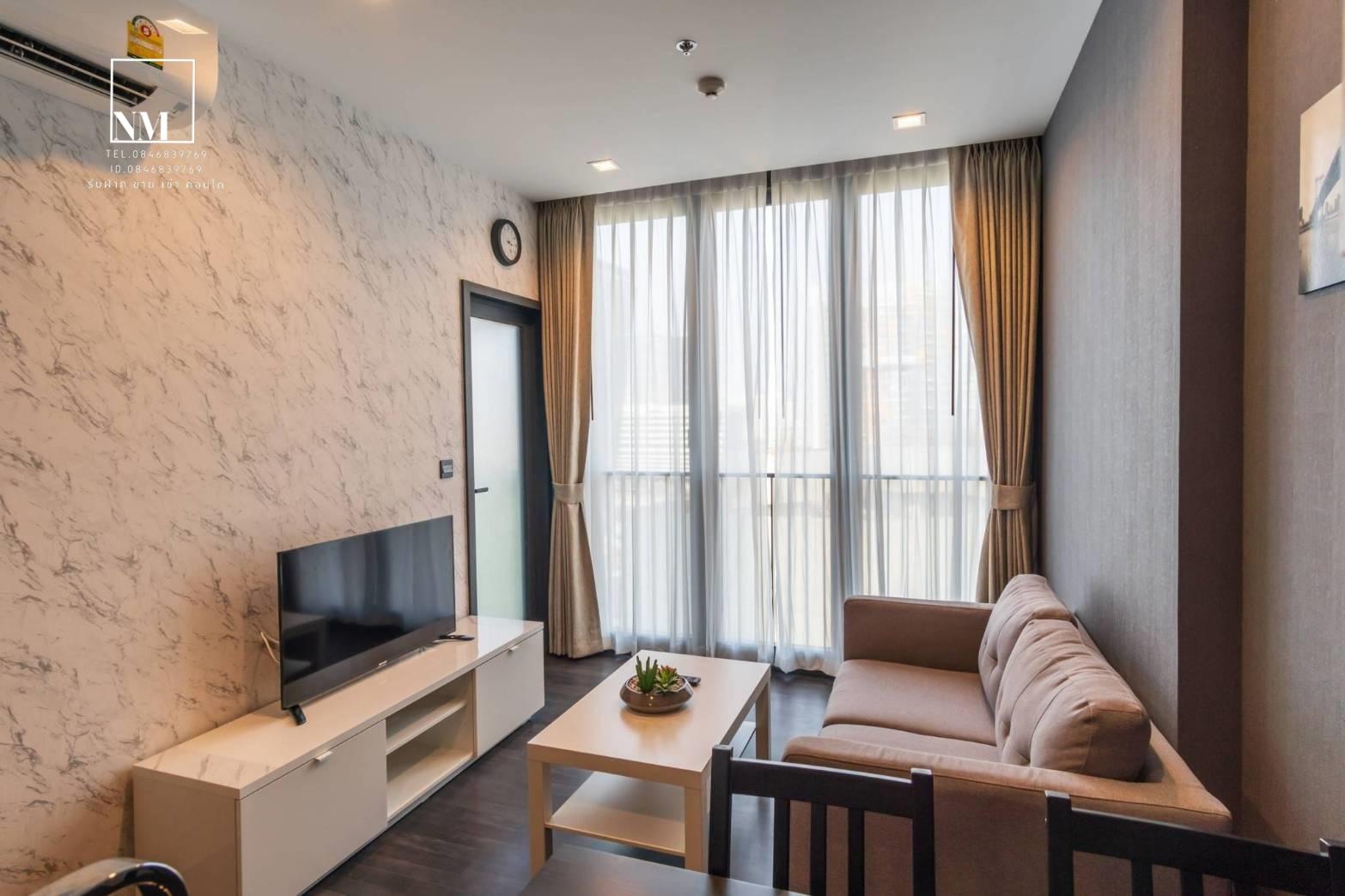 เช่าคอนโดพระราม 9 เพชรบุรีตัดใหม่ : ให้เช่าคอนโด เดอะ ไลน์ อโศก-รัชดา พร้อมเข้าอยู่ + เฟอร์นิเจอร์ครบ For rent The Line Asoke - Ratchada near MRT Rama 9  ใกล้ Mrt พระราม 9 ใกล้ห้าง ฟอร์จูน,เซ็นทรัลพระราม 9