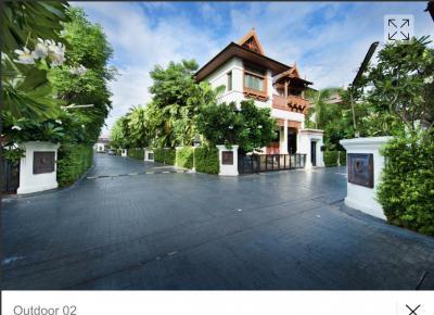 เช่าบ้านสาทร นราธิวาส : ให้เช่าบ้านเดี่ยว โครงการหรู Sathorn ถนนนราธิวาสราชนครินทร์ ใกล้ BRT สถานีถนนจันทน์Sathorn premium Villa on Sathorn Narathiwat Rd. Luxury for family house
