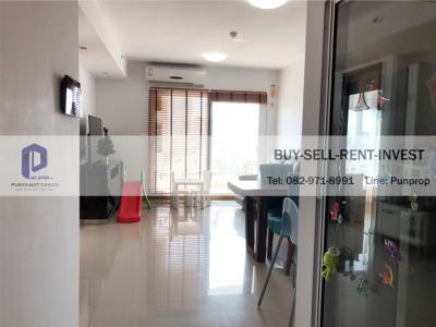 For SaleCondoWongwianyai, Charoennakor : Sell very cheap @ Supalai River Resort Chareon Nakhon 2 bedrooms, 17th floor, river view, pool 73 sqm. 6.8 million