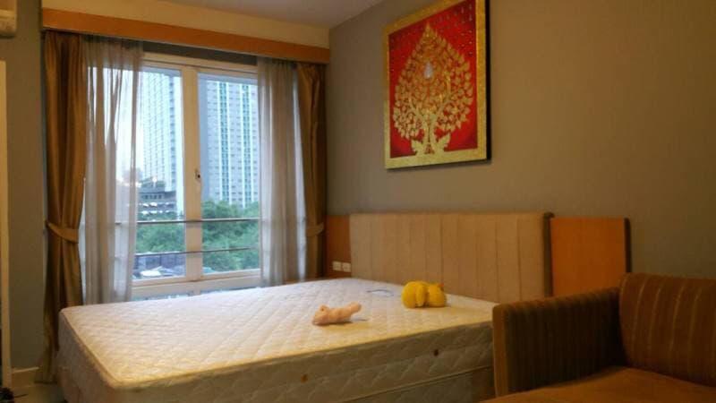 For RentCondoRama9, RCA, Petchaburi : OK-I016 Condo for rent with attractive price. I-House Laguna Garden (RCA)