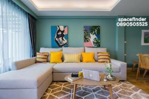 """เช่าบ้านอ่อนนุช อุดมสุข : """"The Pastel House"""" 3 Bedrooms House For Rent In Onnut Area Usable Area : 250 sq.m. 4 Storey"""