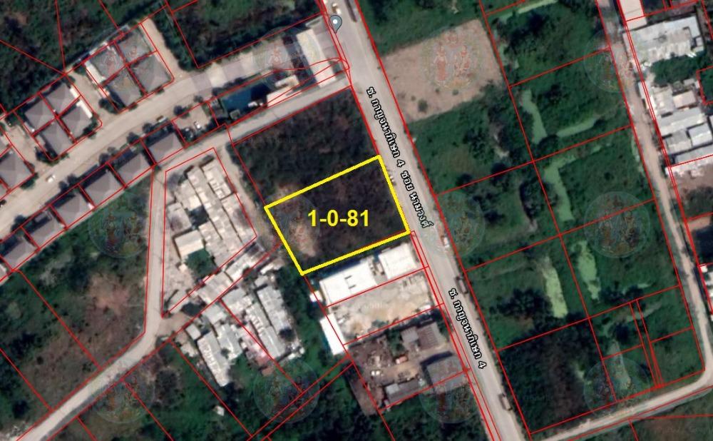 For SaleLandLadkrabang, Suwannaphum Airport : Land reclamation, land size 481 sq.m .. Kanchanaphisek Road, Soi 4