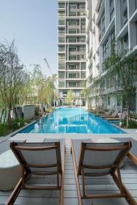 เช่าคอนโดพระราม 9 เพชรบุรีตัดใหม่ : ‼️For Rent, Ideo Mobi Rama9 🔥🔥 1 Bed Fully Furnished, ติด MRT พระราม9 (14K)