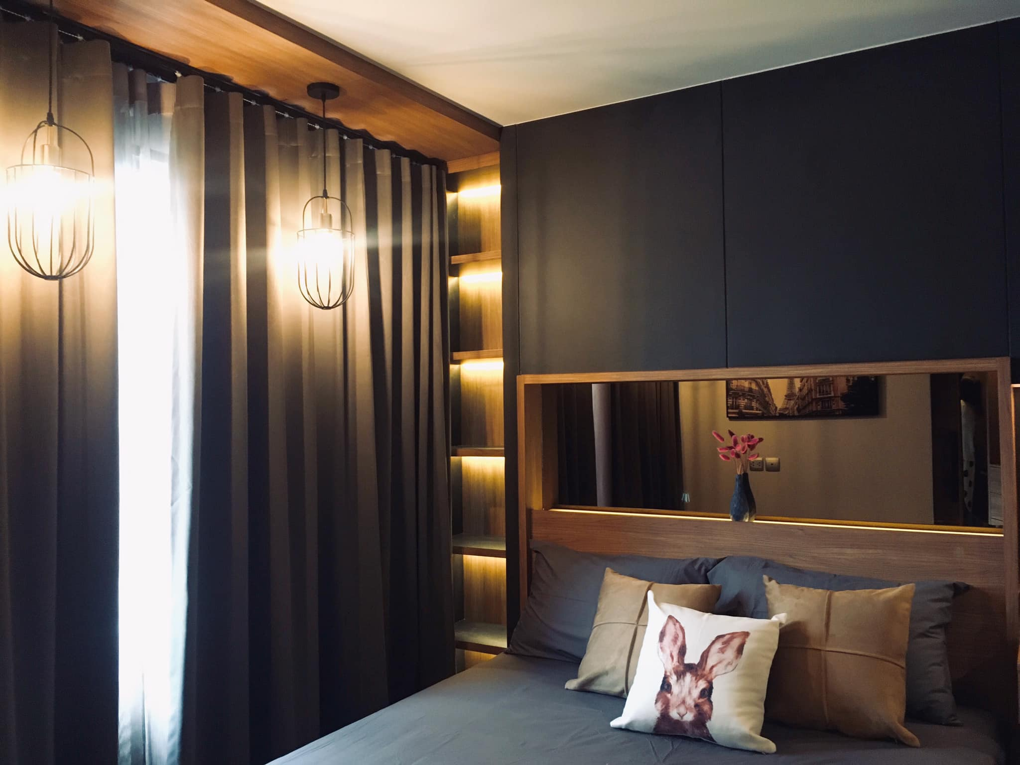 For RentCondoLadprao, Central Ladprao : Condo Life Ladprao Full furnished 1 bedroom elegant and stylish