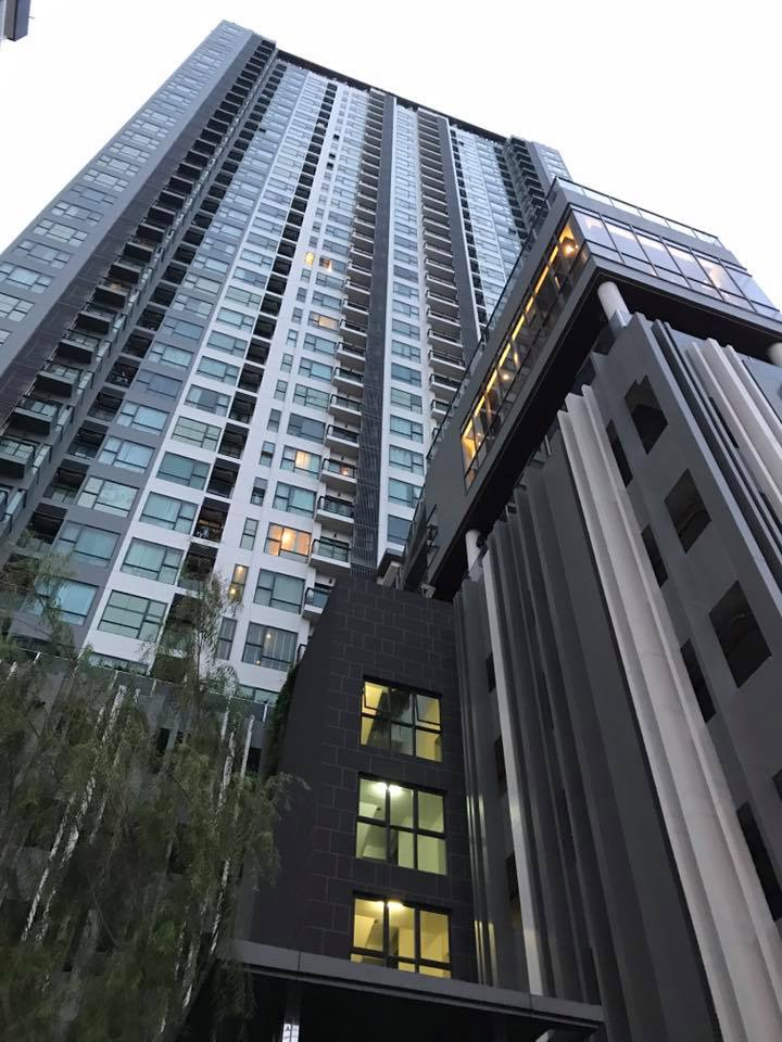 For SaleCondoRama9, RCA, Petchaburi : Sell Rhythm Asoke, one bedroom, beautiful decorated with very good rental rate