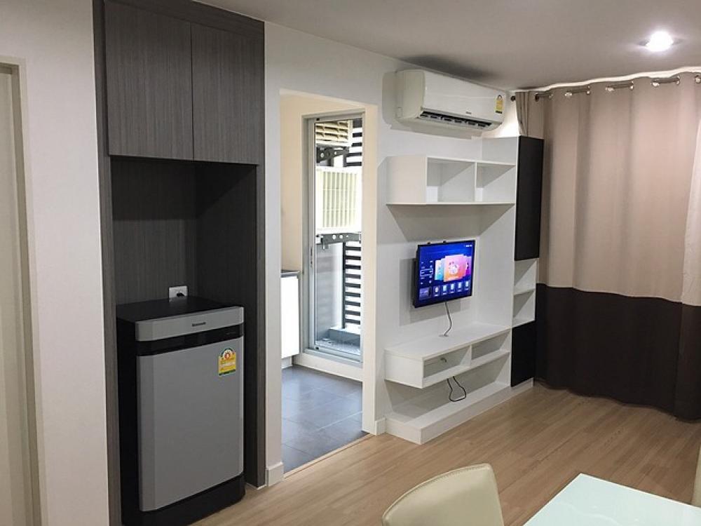 For RentCondoRama5, Ratchapruek, Bangkruai : C845 Rent Sammakorn Condo, S9, 2 bedrooms, next to Mrt Bangrak BTS station # Corner room
