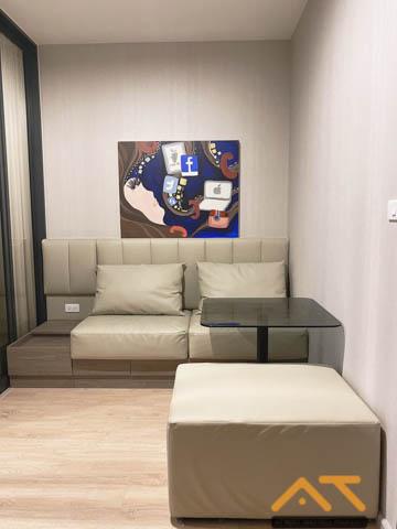 เช่าคอนโดท่าพระ ตลาดพลู : ให้เช่า Ideo Thaphra Interchange Studio ขนาด 27 ตร.ม. ห้องสวย พร้อมอยู่