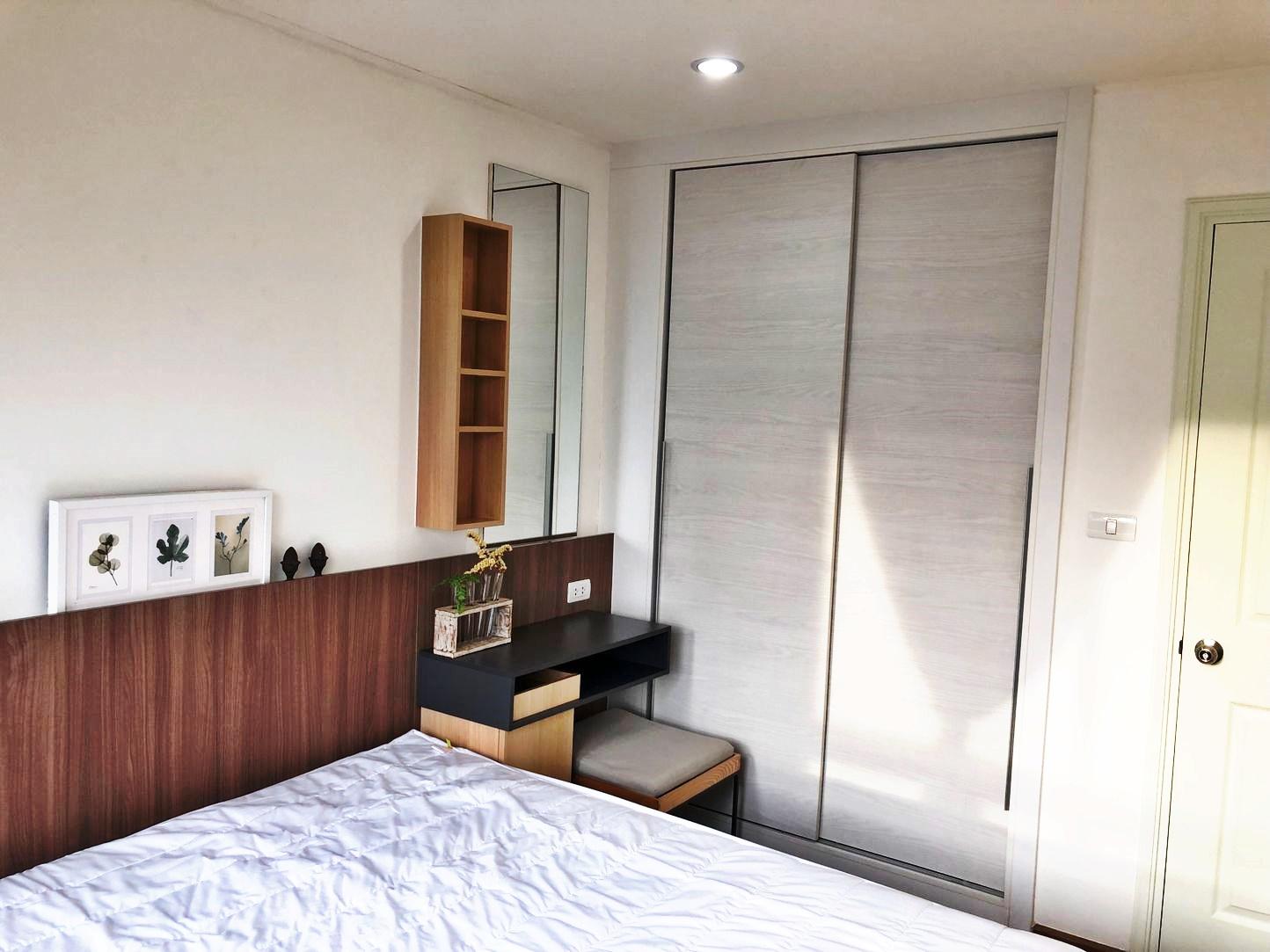 For RentCondoRattanathibet, Sanambinna : Condo for rent, U Delight Rattanathibet 30 sqm. 1 bed 1 bath, beautiful room, ready to move in 8,500 / month