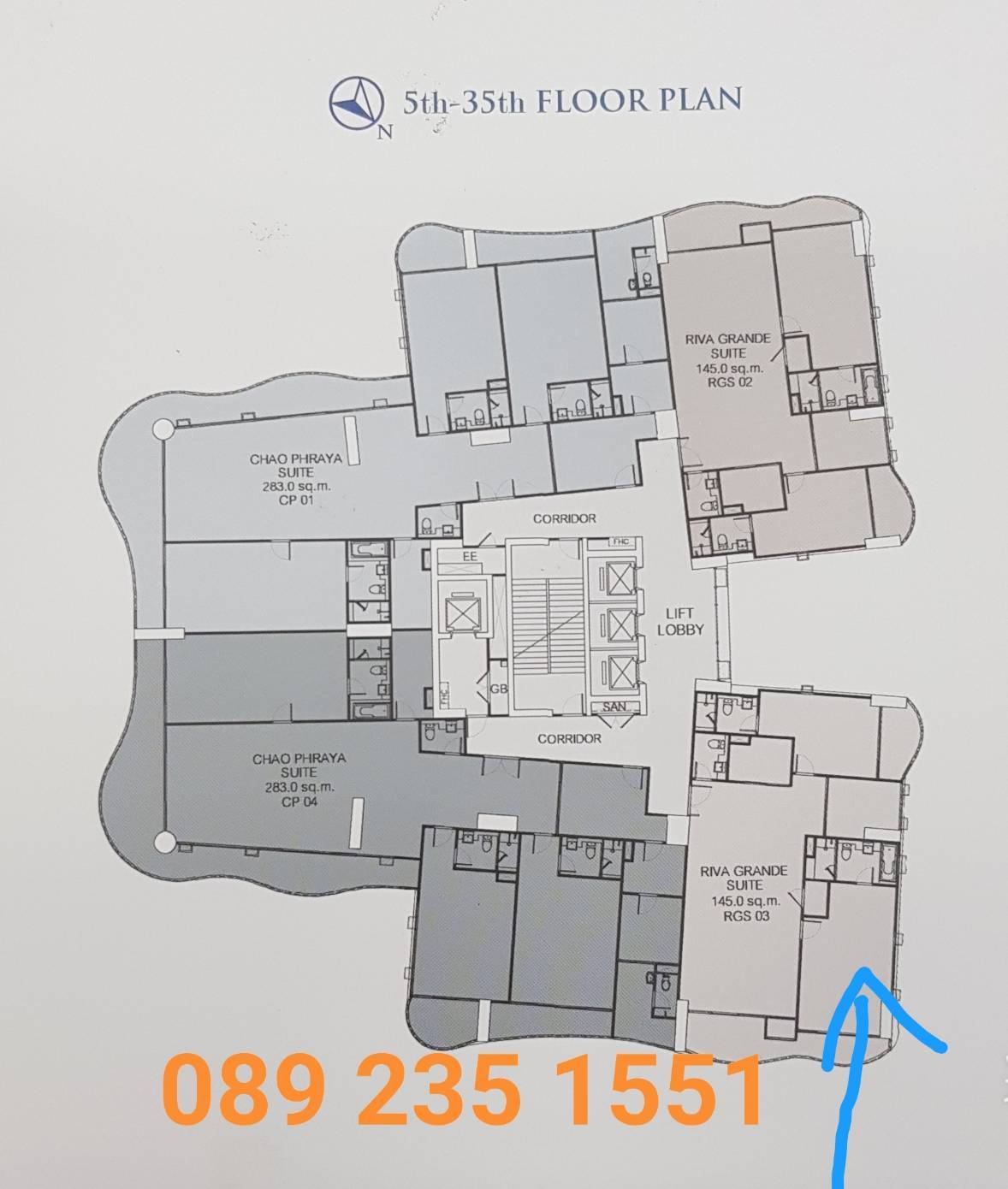 Sale DownCondoRama3 (Riverside),Satupadit : *** Quick sales *** There are many rooms to choose from Supalai Riva Grand at the most special price. New condo by the river, close to Rama 3 road.