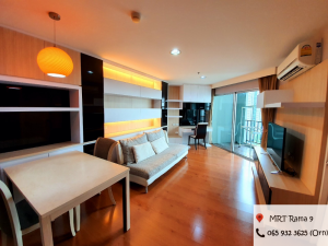 For RentCondoRama9, RCA, Petchaburi : For rent, belle Grand Rama9, 2 bedroom, nice room, good condition, decorated in, perfect storage for high floor, north view, no block, only 30,000 baht.