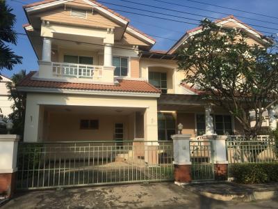 เช่าบ้านลาดกระบัง สุวรรณภูมิ : ให้เช่าบ้านเดี่ยว บ้านมัณฑนา อ่อนนุช-วงแหวน 1 Manthana Onnut-Wongwan 1