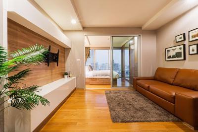 เช่าคอนโดลาดพร้าว เซ็นทรัลลาดพร้าว : For Rent Abstracts Phahonyothin Park (38 sqm.)