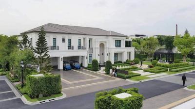 For RentHousePattanakan, Srinakarin : Rent&Sale - Baan Sansiri Phatthanakan - Luxury Single house