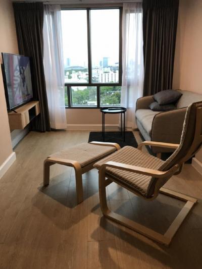 For RentCondoBang Sue, Wong Sawang : Condo for rent Metro Sky Prachachuen Next to BTS, ready to move in, Duplex 2, size 40 sq m.