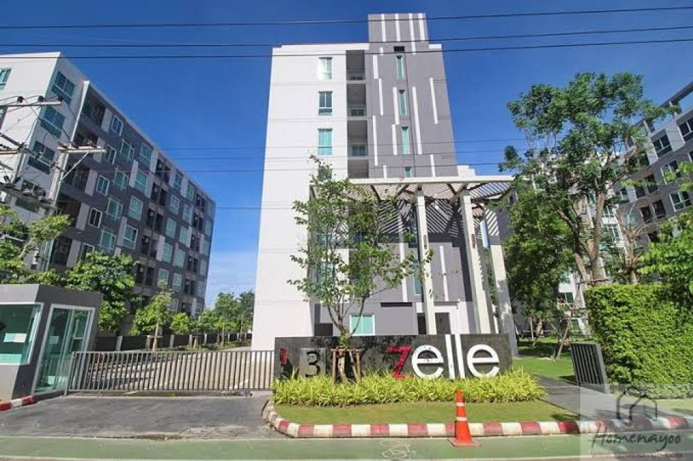 For RentCondoNakhon Pathom, Phutthamonthon, Salaya : Luxury condo for rent near Mahidol University - Zelle Salaya 2 Bedroom