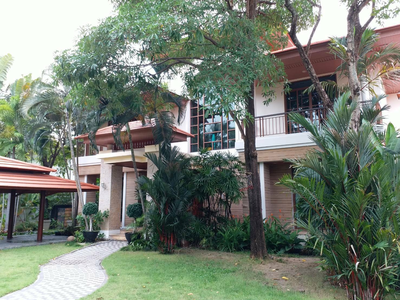 For SaleHousePattanakan, Srinakarin : Luxury house for sale, Narasiri Phatthanakan-Srinakarin, 228 sq.m