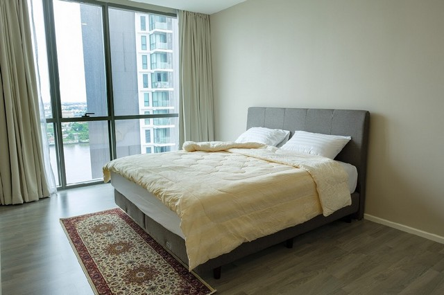 For SaleCondoBang Sue, Wong Sawang : For sale, Condo 333 Riverside, near MRT Bang Pho, size 83.26 sq.m., 15th floor, Building A, 2 bedrooms, 2 bathrooms, River view