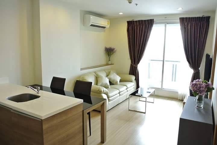 เช่าคอนโดรัชดา ห้วยขวาง : +++เช่าด่วน+++ ห้องแต่งสวย++ Rhythm Huai Khang ** 1 ห้องนอน 46 ตร.ม. ชั้นสูงวิวสวย  พร้อมเข้าอยู่